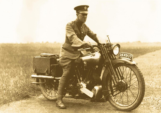 Lawrence of Arabia - Brough Superior