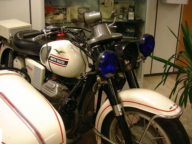 Verkeerspolitie Amsterdam - Moto Guzzi V7 Special