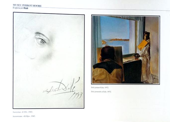 Museu Perrot-Moore - Dalí pintando a Gala