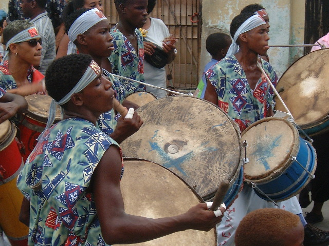 Banda de carnaval - Santiago de Cuba