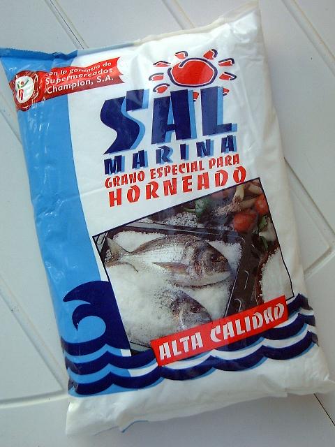 Sal para hornear