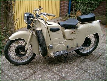 1953 Moto Guzzi Galletto