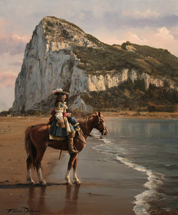 El último de Gibraltar por Augusto Ferrer-Dalmau