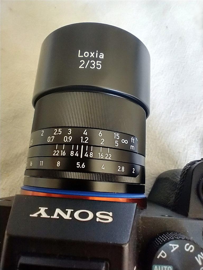 Sony A7 III met Zeiss Loxia 35mm